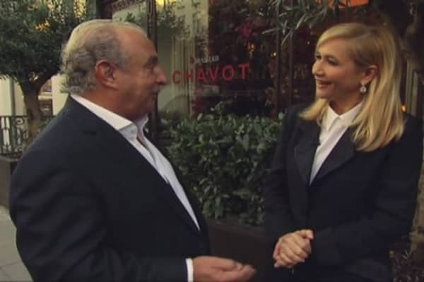 CNBC Meets: Sir Philip Green, part two