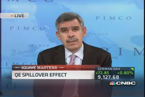 QE spillover effects hitting Indonesia & Brazil: El-Erian