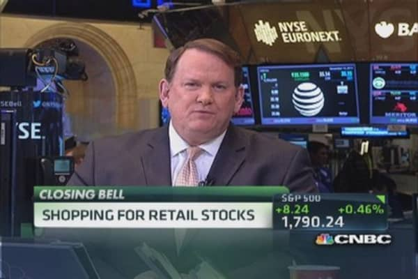 Shopping for retail stocks