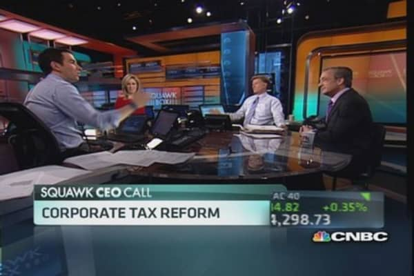 The case for corporate tax reform