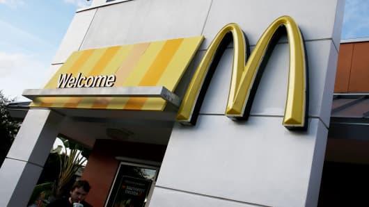 A McDonald's restaurant in Miami, Florida