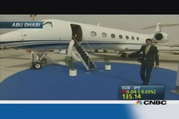 Private jet demand booming in Middle East