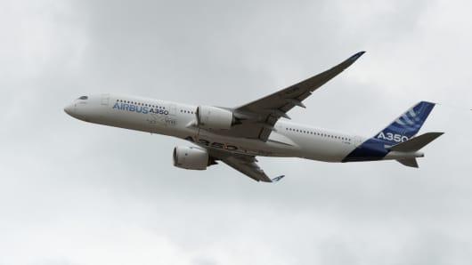 Airbus Q1 core operating profit falls 7%, confirms targets