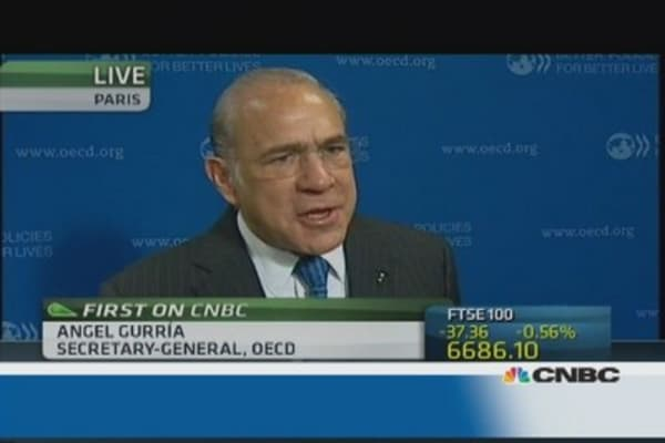 Fed can't inflate its balance sheet forever: OECD's Gurria