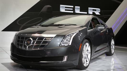 Cadillac ELR extended-range luxury hybrid.