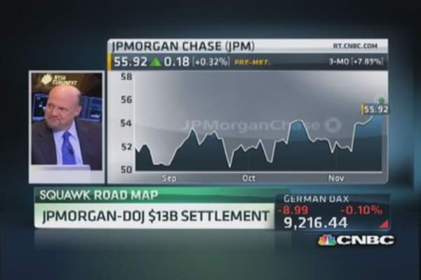 JP Morgan to settle with DOJ for $13 billion