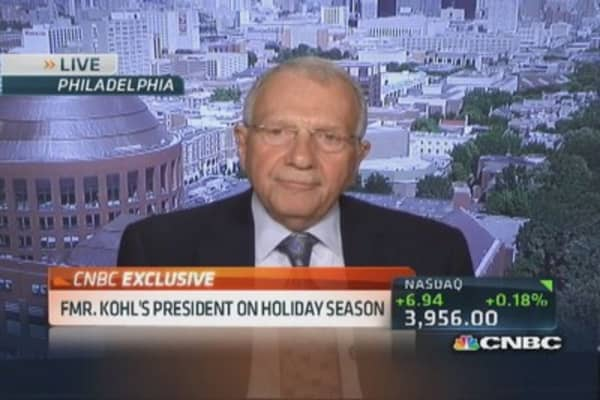 Former Kohl's president: Customer seeks great bargains