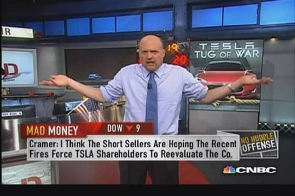 Cramer pulls back the curtain on Tesla