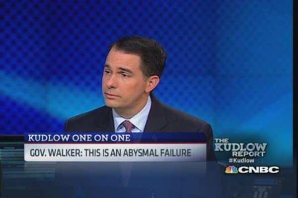 Gov. Walker on ACA: Made promise nobody could deliver