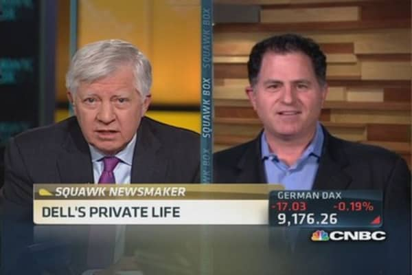 Dell CEO: Icahn 'had no long-term intentions'