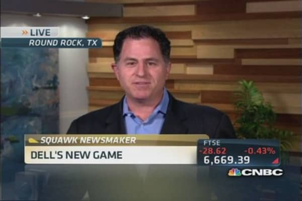 Dell CEO: Able to really go after growth since private