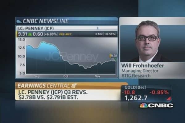 JCP Q3 revenue: $2.78 billion