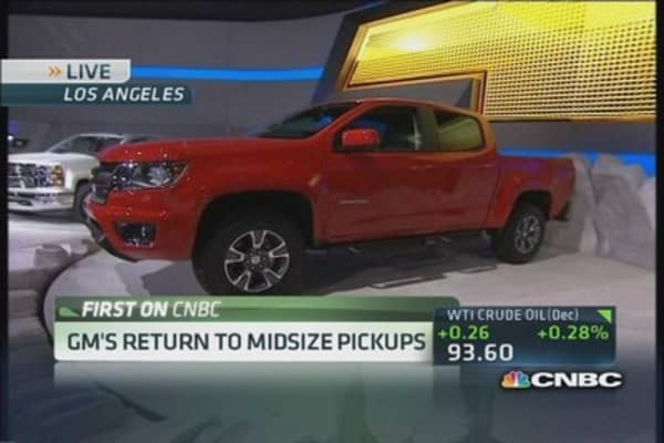 GM's Reuss talks Cadillac ELR, Chevy Colorado