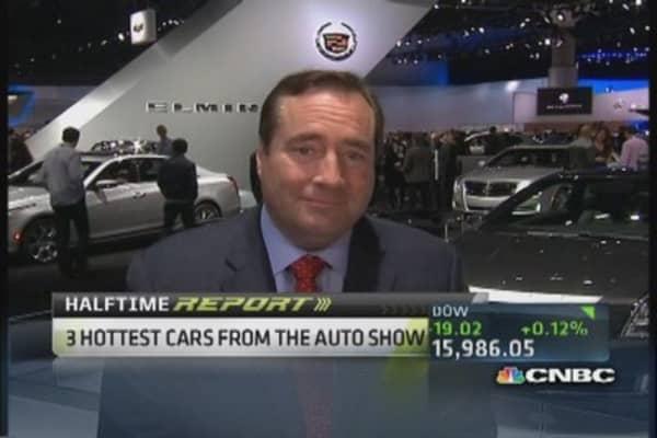 Sneek peek from LA auto show