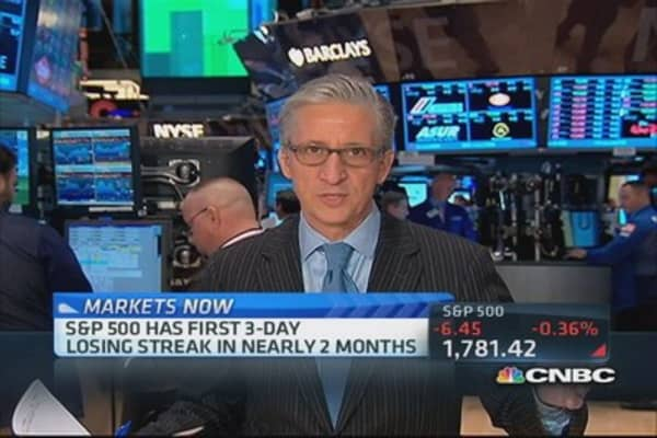 Pisani: 10-year drifts higher