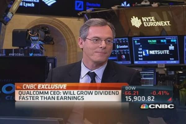 Qualcomm CEO: Riding smartphone wave