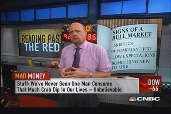 A bull market always has skeptics: Cramer