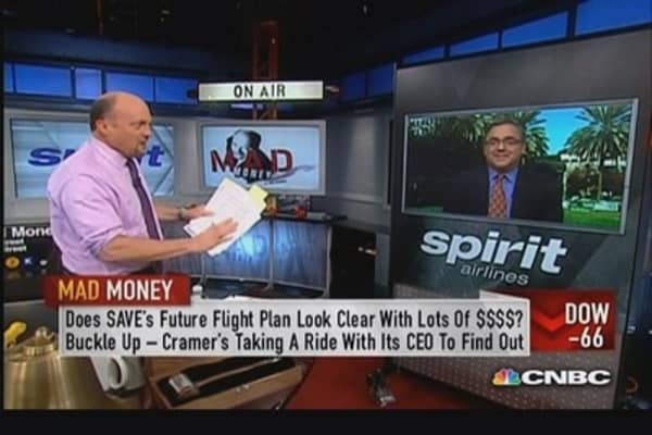 Spirit Airlines CEO: Try to have lowest price possible