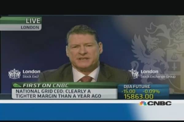 UK needs 'more sources of energy': National Grid CEO