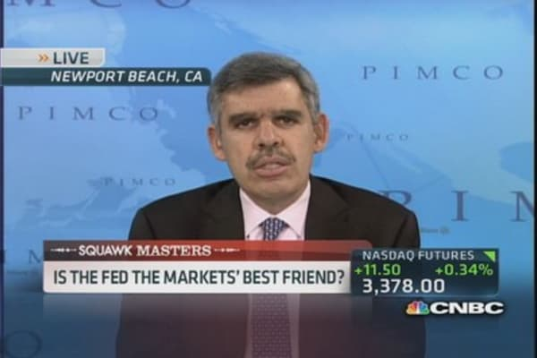 El-Erian: Fed feels obliged to support asset markets