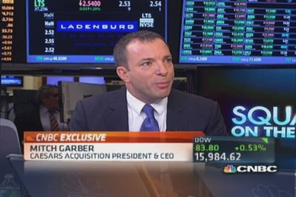 Confident in NJ internet gambling: Caesars CEO