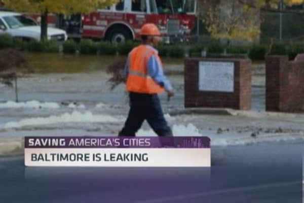 Baltimore is leaking