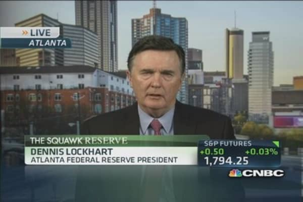 Will remain accommodative, tools will change: Fed's Lockhart