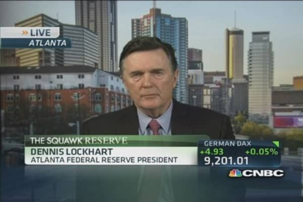 Fed's Lockhart: Decision to delay taper has been 'vindicated'