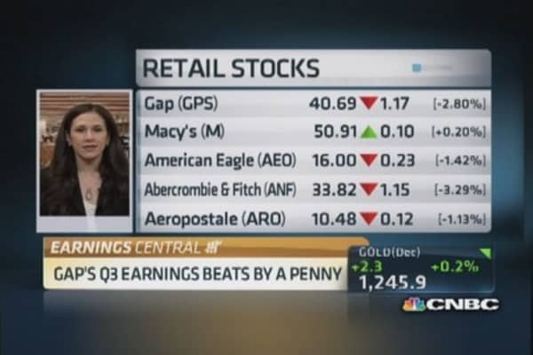 Slight beat for Gap; gross margin pressure: Analyst