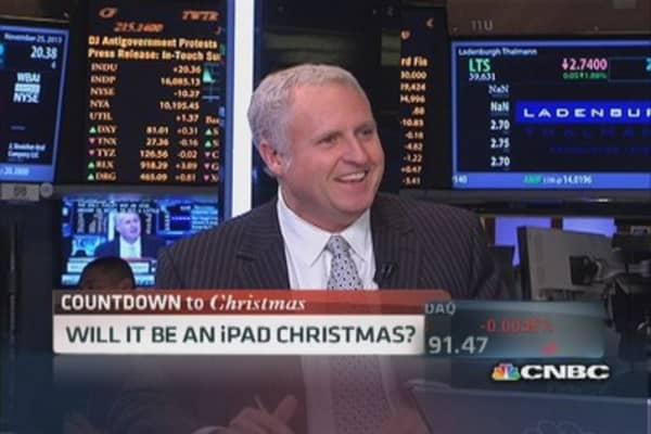 Will it be an Apple Christmas?