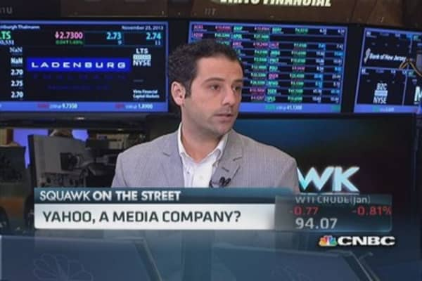 Steinberg: Yahoo is going to be a media company