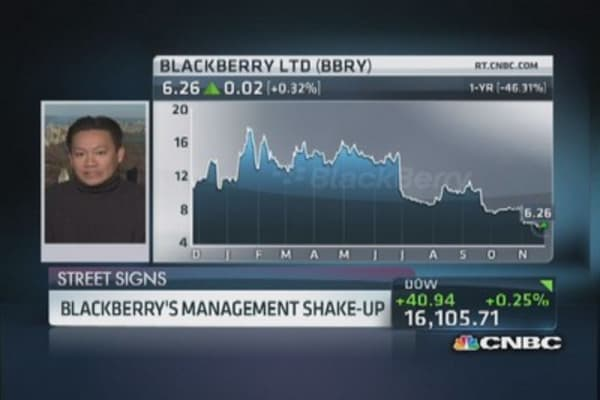 Bold changes at Blackberry