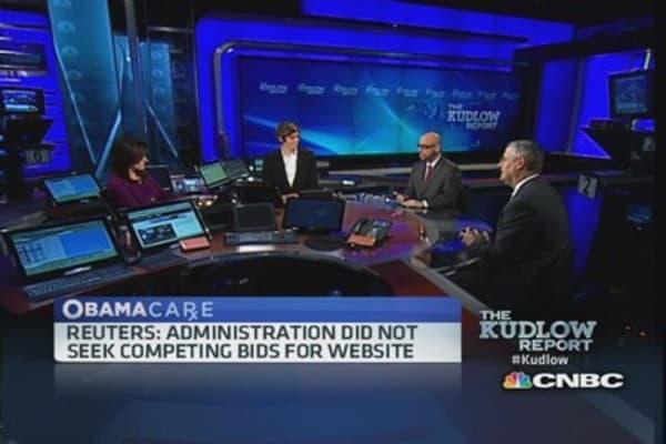 Obamacare: No-bid, no problem?
