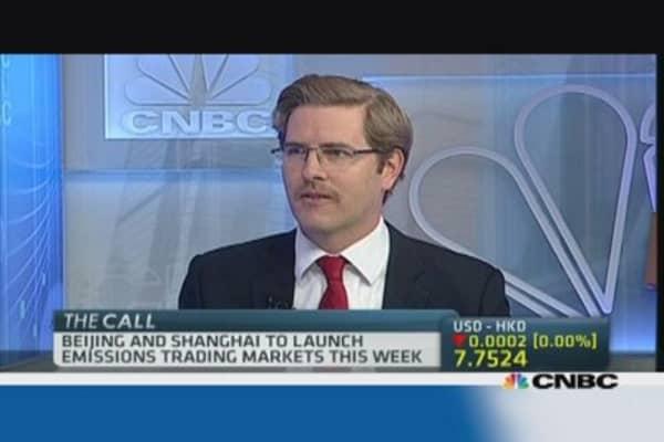 Shanghai's carbon trading scheme kicks off