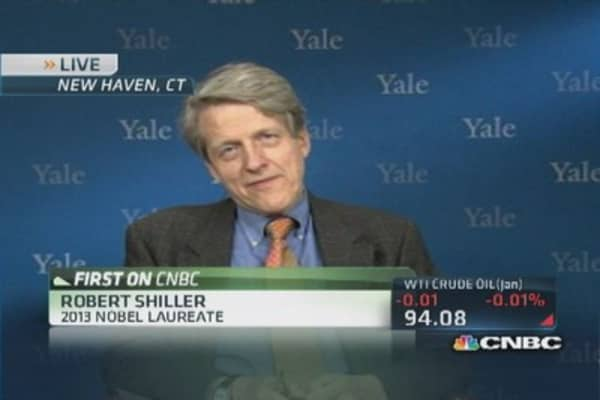Shiller: No homebuyer excitement