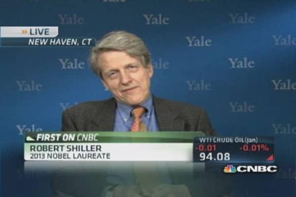 Shiller: No homebuyer excitement