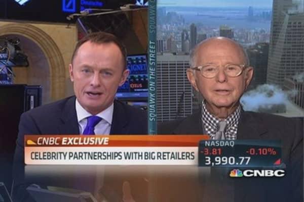 Celebrities partner with big retailers
