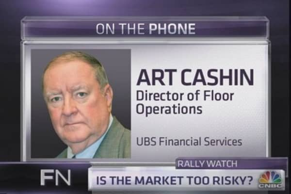 Art Cashin: Here's what could derail the rally