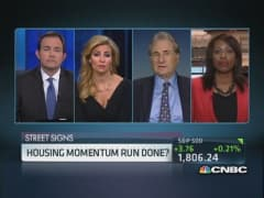 Has housing momentum halted?