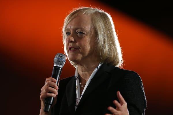Meg Whitman, CEO of Hewlett-Packard