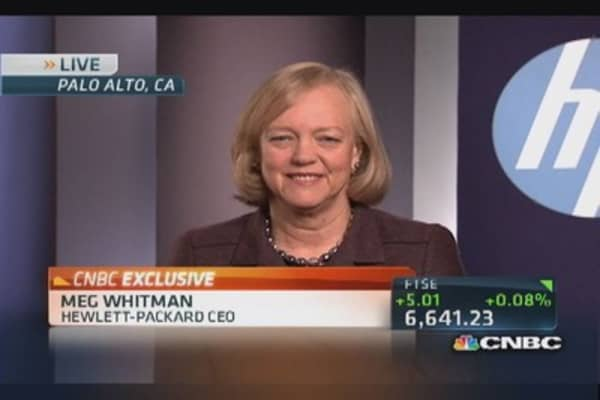 HP's Whitman: Opportunity in commercial PC business