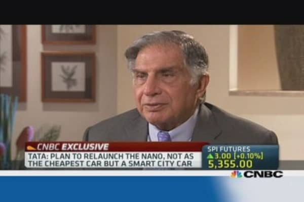 Corus price was high, but not unfortunate: Tata