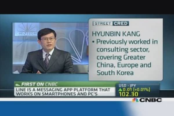 Japanese messaging app Line targets China