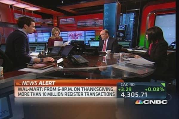 Wal-Mart posts big Black Thursday numbers