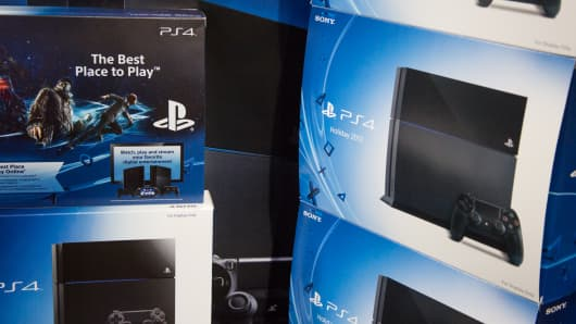 Playstation PS4 consoles on sale at Best Buy.