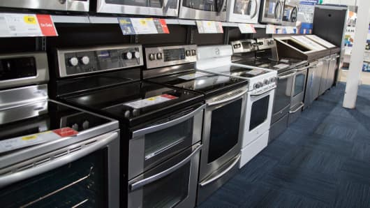 Durable goods on sale at Best Buy.