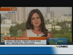 CNBC's Hadley Gamble interviews Yair Lapid