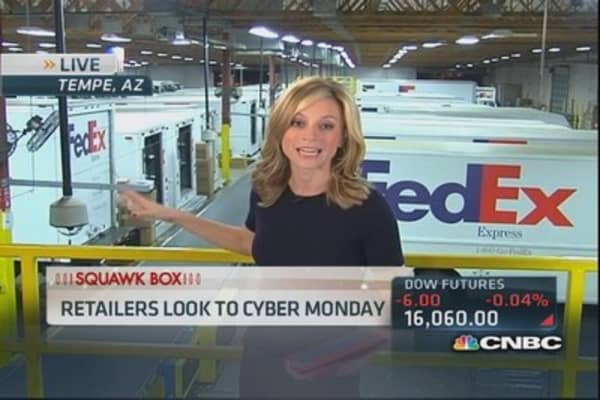 FedEx projects busiest day ever