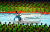 Lang Lang performs at the Opening Ceremony for the 2008 Beijing Summer Olympics