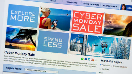Alaska Airlines Cyber Monday sale